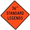 "Mesh Standard Legends 36""x36"""