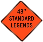 "Mesh Standard Legends 48""x48"""