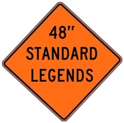 "Roll Up Diamond Grade™ Standard Legends 48""x48"""
