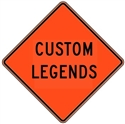 "Mesh Signs Custom Legend 36""x36"""