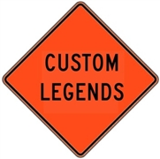 "Mesh Signs Custom Legend 48""x48"""